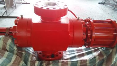 Red Wellhead Surface Safety Valve, FC Hydraulic Gate Valve Dengan Operasi Manual